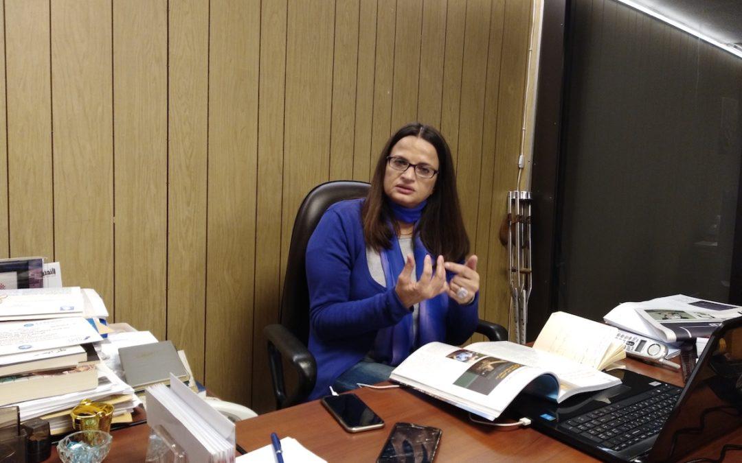 رشا سنكري: أولويتي في العمل البلدي حقوق الأشخاص ذوي وذوات الإعاقة
